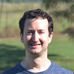 A picture if Ryan Meyer, UI designer involved in the Laboratory Information Management System, Electronic Laboratory Notebook, and Scientific Data Management System